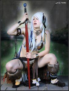 An Elf With A Magic Sword - DunJon Fantasy Art