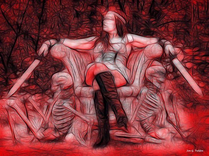 Throne Of Blood - DunJon Fantasy Art