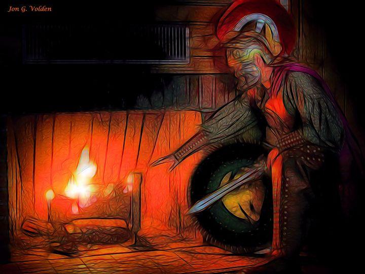 Hearth Of Heroes - DunJon Fantasy Art