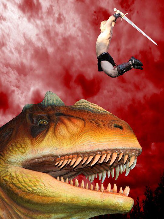 Dragon Slayer - DunJon Fantasy Art