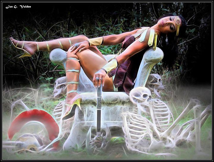 Hel Goddess Of Death - DunJon Fantasy Art