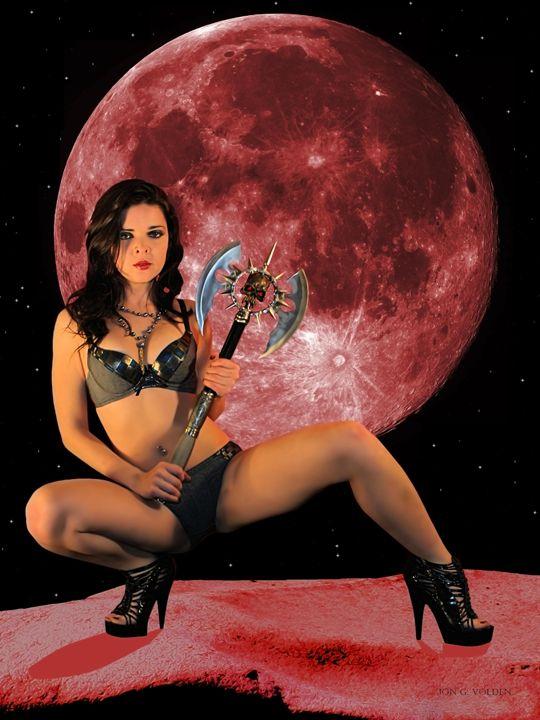 Rebel (Mars Rising) - DunJon Fantasy Art