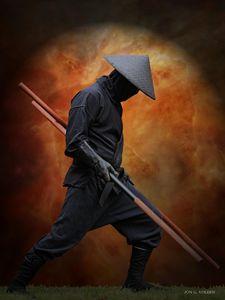 Ninja Strong - DunJon Fantasy Art