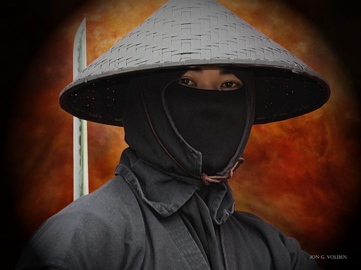 Eyes of the Ninja - DunJon Fantasy Art