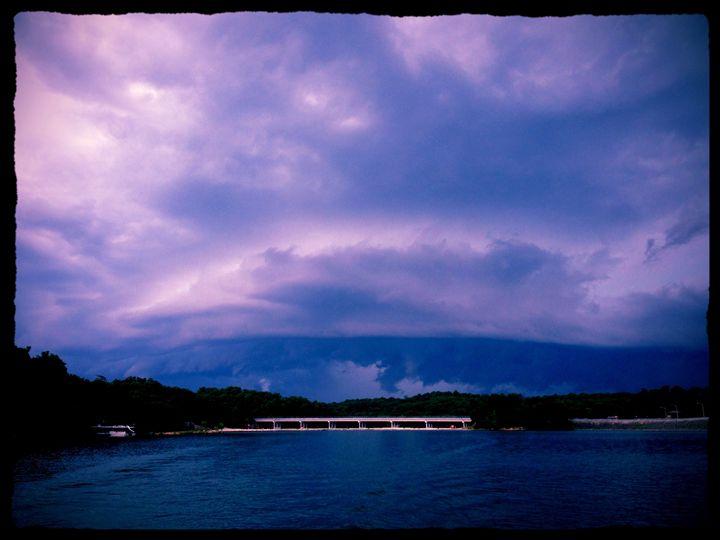 Laurel Lake Storm - Keepsake Images by Sarah Shemenski