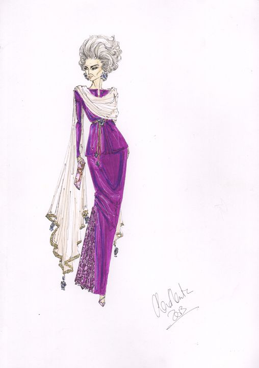 Business in the Kingdom - Alex Newton Fashion Art