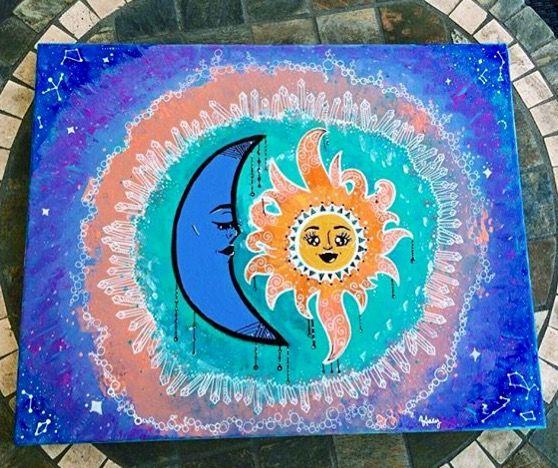Moon & Sun - MindfulHaley