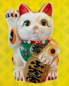lucky Cat (Yellow) - Patrons Of