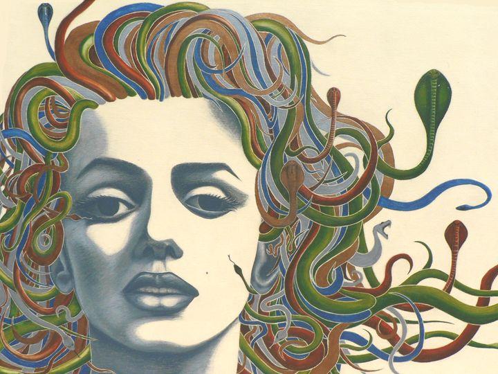 Medusa Monroe - Ty McKie Creations