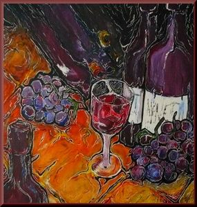Wine - Art by O'Shea