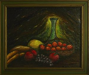 Still Life with Bread - Art by O'Shea