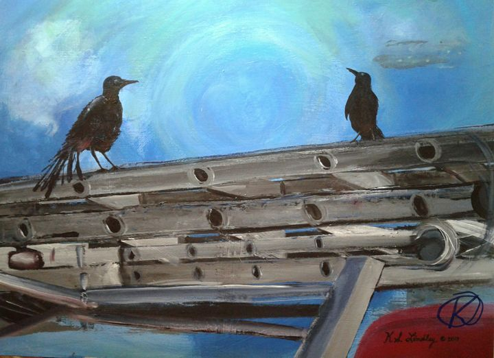 Black Bird Heights - KSLindley