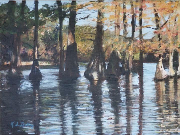 Cypress Trees - KSLindley
