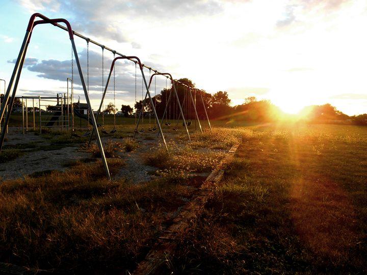 Sunset Swingset - Bethany Lee Photography