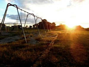 Sunset Swingset