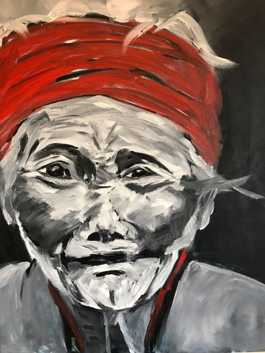 Wisdom - Ayesha Wright Fine Art