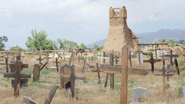Taos Pueblo Tower - Hamza Nizam Zaman