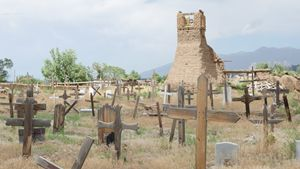 Taos Pueblo Tower