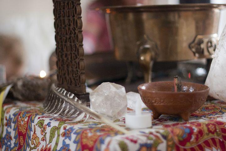Ceremonial Altar - Hamza Nizam Zaman