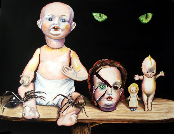 Dolls and SPiders - Chris Benice