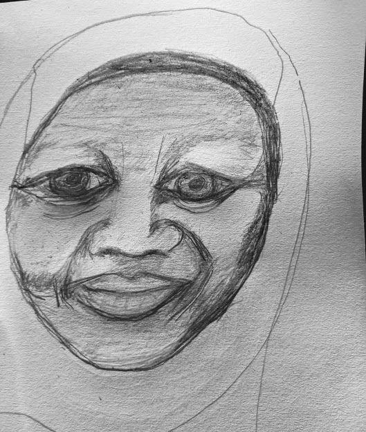 A Muslim Lady - Naomi Hills