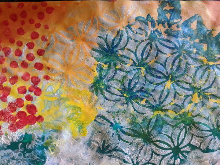 A curious combination of colors - Naomi Hills