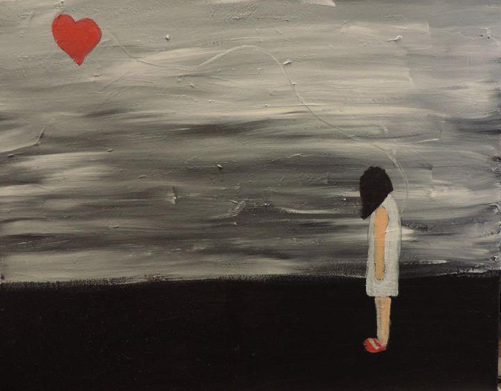 Heart on a String - nancy lois denommee