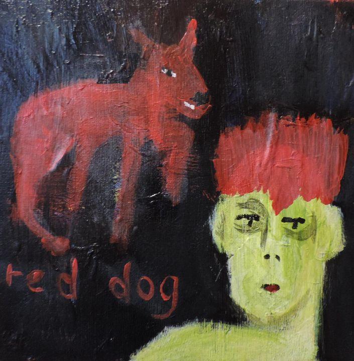 Red Dog - nancy lois denommee