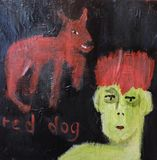 original outsider art painting