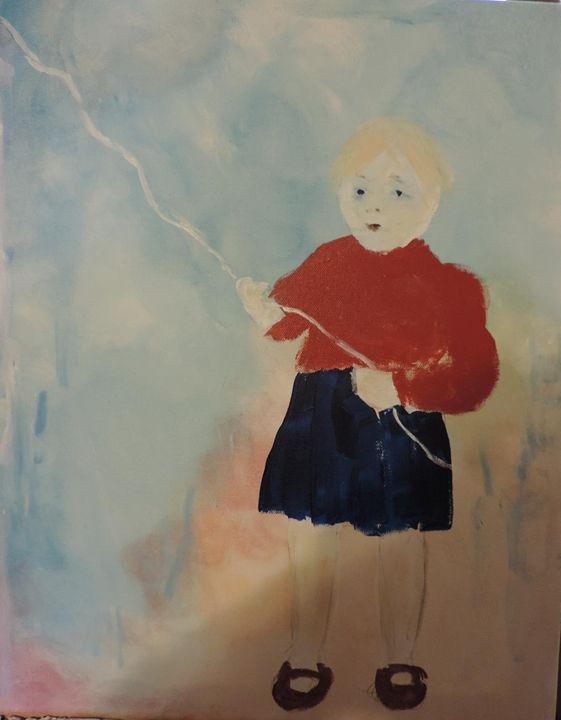 Big Blue Balloon - nancy lois denommee