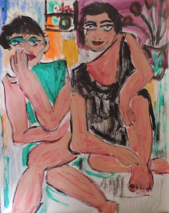 girlfriends no. 19 - nancy lois denommee