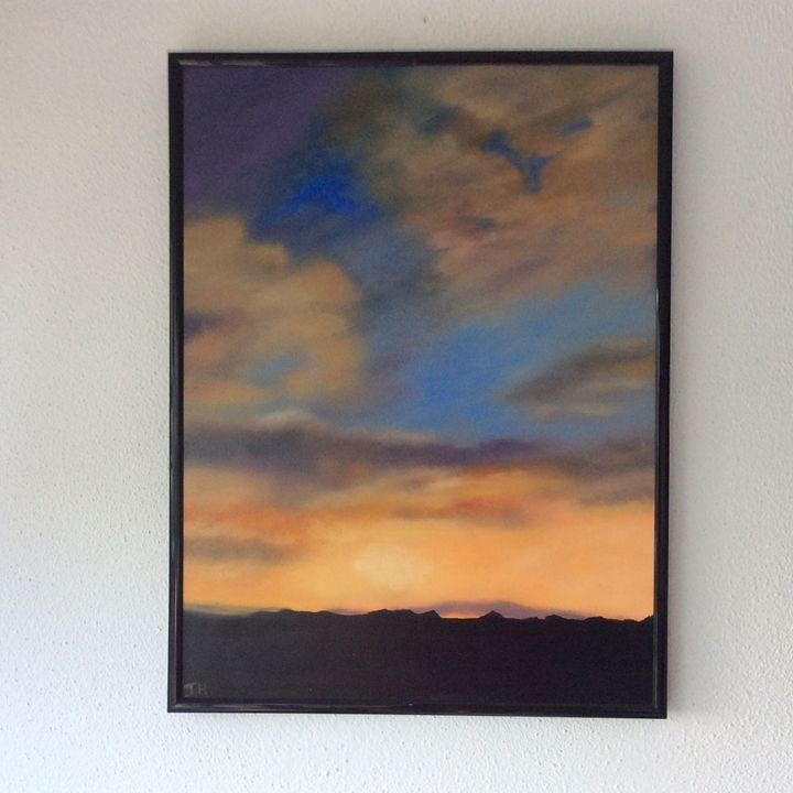 Sky - Jayne Roggeband oil paintings