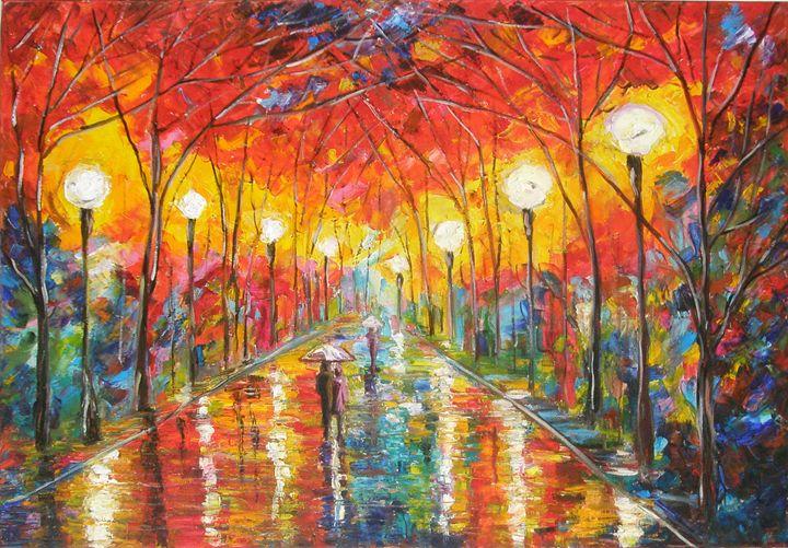 Rain - Romaya art