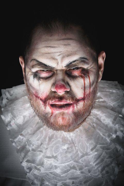 Scary Evil Clown - Faces Studio