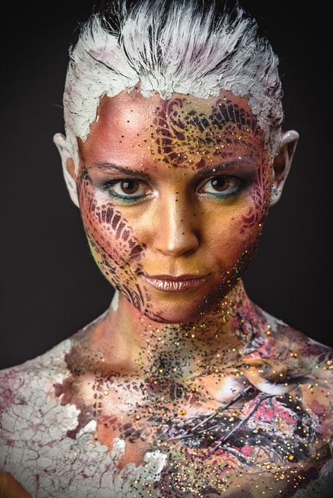 Bird Girl Fantasy Makeup - Faces Studio