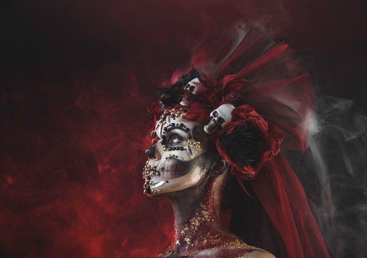 Young girl Santa Muerte - Faces Studio