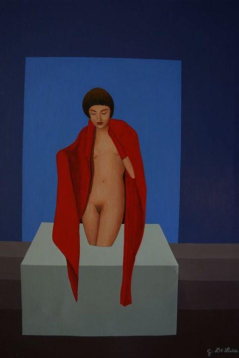 Asian woman - Giovanni De Luca art