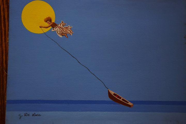Cupid - Giovanni De Luca art