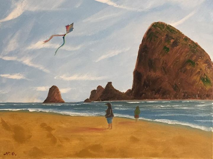 Cannon Beach, OR (2017) - Nataliia's Art Gallery