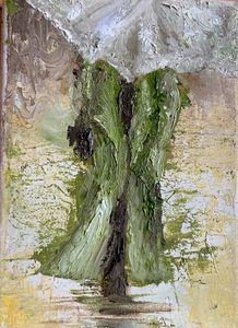 woman walking in the rain umbrella - Gillian McIntosh