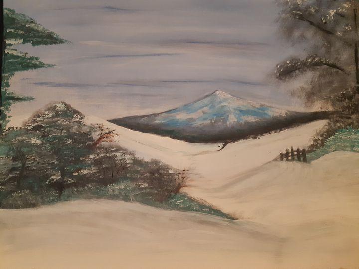 Snowy hills - F Smith
