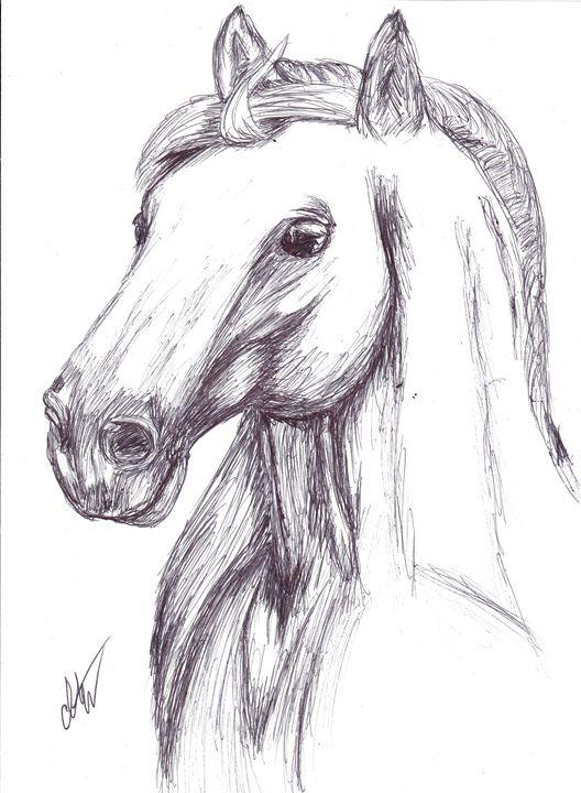 Pen Horse - Art by Indigo