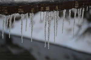 Railroad Icicles