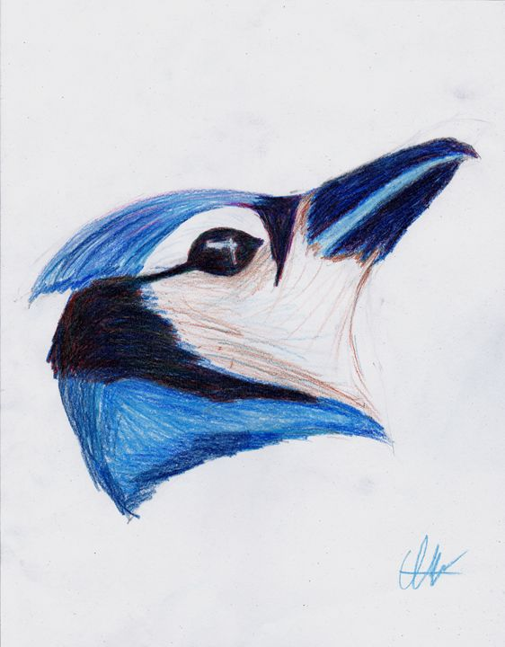 Blue Bird - Art by Indigo