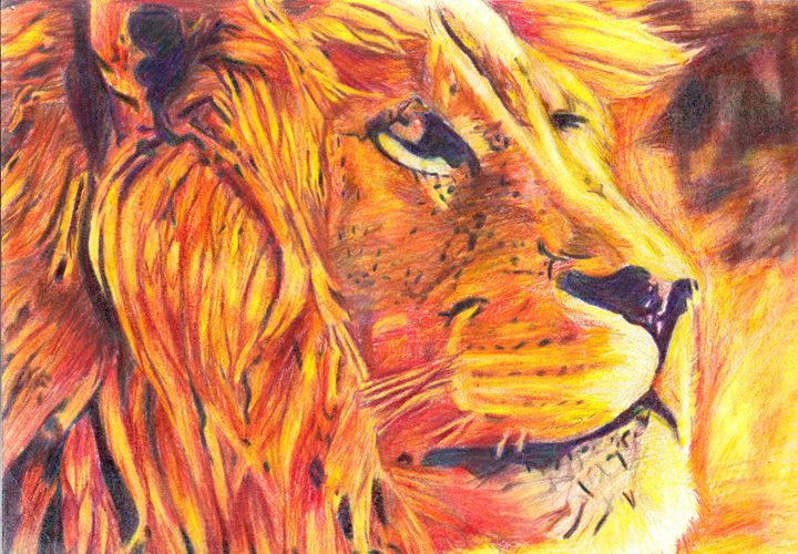 The Lion - Art by Indigo