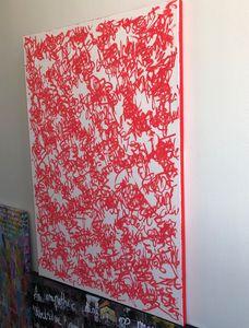rouge vid (vivid red) - Josephine Dumez