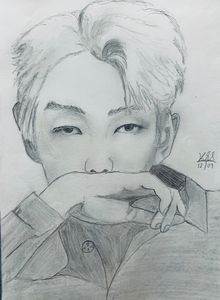 BTS Kim Namjoon (RM) Fan art