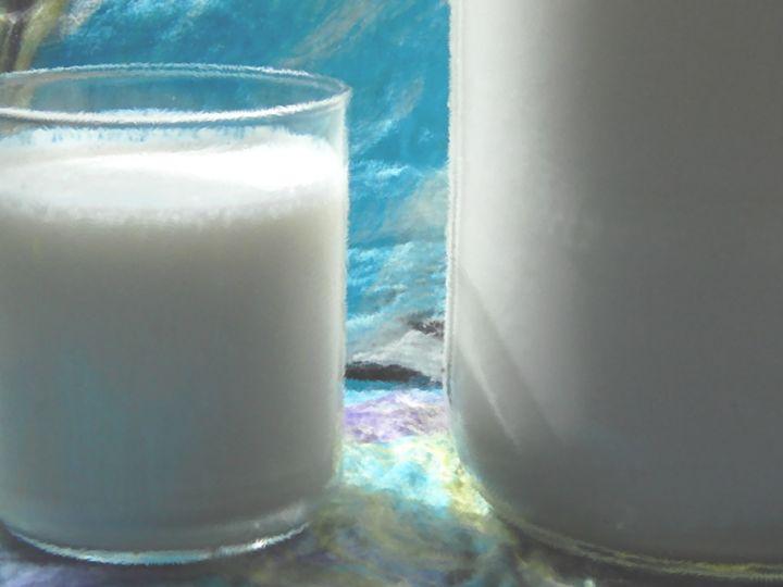 Kefir Glass and Jar - Double Moon Art