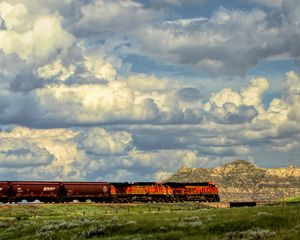 Train Across The Prairie