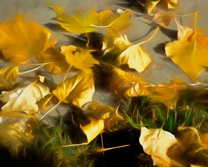 Fallen Leaves - Double Moon Art